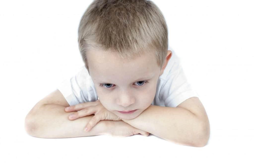 sad, child, boy